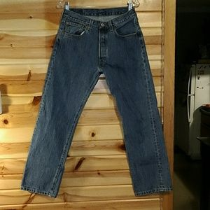Levi Strauss Straight Fit 501